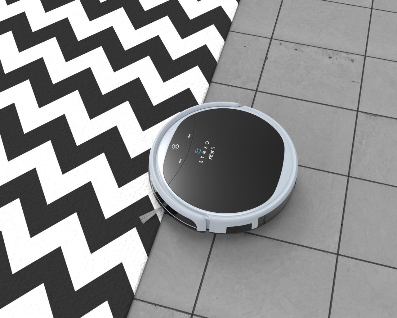 Effektiv auf allen Fußbodentypen